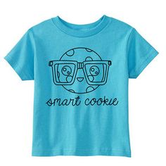 Smart Cookie Tee Aqua now featured on Fab.