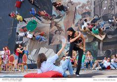 PROVE // LA TRAVIATA // 2012 // Foto Alfredo Tabocchini. Myrtò Papatanasiu e Ivan Magrì. #allieviemaestri #traviata #altrochelopera www.sferisterio.it