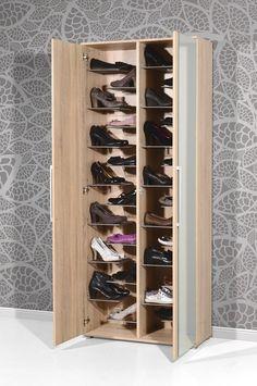 Shoe Storage Design, Shoe Cabinet Design, Closet Shoe Storage, Shoe Storage Cabinet, Shoe Closet, Bedroom Closet Design, Wardrobe Design, Closet Designs, Bedroom Storage