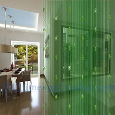 Curtain encryption partition curtain crystal bead curtain entranceway curtain finished product cutout home decoration-inCurtains from Home & Garden on Aliexpress.com | Alibaba Group