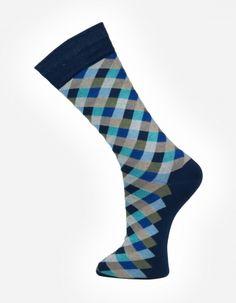 Check no.909 Effio #Dandy #Mensstyle #Mensfashion #Gentleman #Socks #DutchDesign #MadeinItaly #Check #Colourful