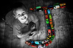 Cute idea with cars!!!
