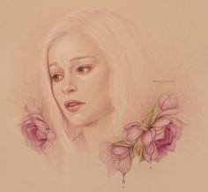 Daenerys by JenniferHealy.deviantart.com on @deviantART