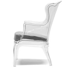 In stock and quick delivery of commercial, restaurant, and hotel furniture. Accent Chairs For Living Room, Living Room Decor, Acrylic Chair, Acrylic Furniture, Baxton Studio, Foam Cushions, Modern Furniture, European Style, Woven Fabric