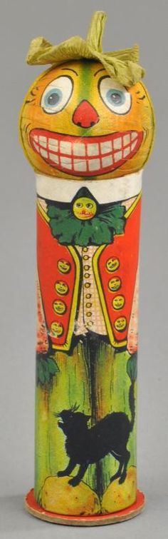 german candy containers | German Halloween Soldier Candy Container