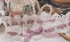 Crochet Pattern -  BRIDAL GARTER Wedding - Instructions