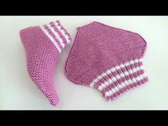 Best 10 Crochet socks – Page 326229566758475572 – SkillOfKing. Knitting Videos, Loom Knitting, Knitting Stitches, Knitting Socks, Free Knitting, Crochet Fox, Knitted Slippers, Crochet Slippers, Free Crochet