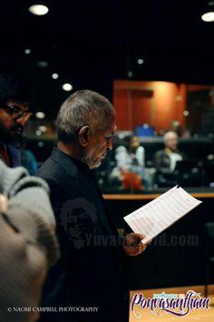 Ilaiyaraaja conducting music for NEPV