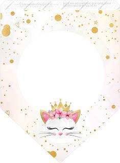 Kedi Temalı Ücretsiz Parti Seti - Neşeli Süs Evim - Ücretsiz Doğum Günü Süsleri