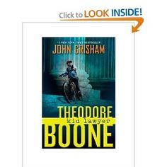 Theodore Boone: Kid Lawyer by John Grisham. Fun clean kids book.