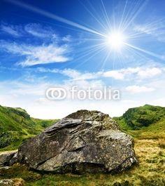 Rock and sunshine