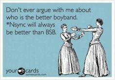 NSYNC > BSB