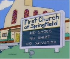 Here are 23 fantastic yet subtle signs from <i>The Simpsons</i> that deserve a second look!