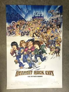 """""""Detroit Rock City"""" - Directed by Adam Rifkin. With Edward Furlong, Giuseppe Andrews, James DeBello, Sam Huntington. A comedy about four teenagers in 1978 who try to scam their way into a KISS concert. Edward Furlong, Sam Huntington, Shannon Tweed, Peter Criss, Natasha Lyonne, Paul Stanley, Gene Simmons, Hd Movies, Movies Online"""
