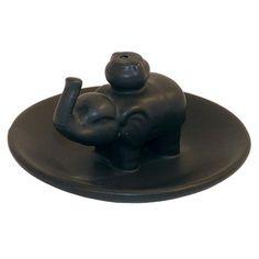 Ceramic Incense Holder Plate - Elephant £4.50 #incenseholder #incense #elephant