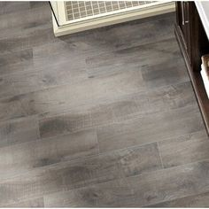 Country River 6 x 36 Porcelain Wood Look Tile Wood Tile Floors, Bathroom Flooring, Kitchen Flooring, Hardwood Floors, Kitchen Tile, Wood Look Tile Floor, Kitchen Decor, Bathroom Tiling, Ceramic Flooring