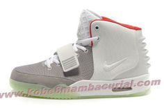 Nike Air Yeezy II Men Shoes White Red  Retro