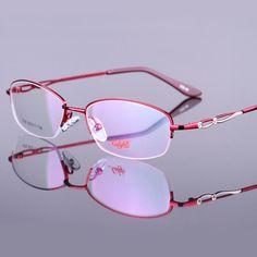 a16154dfaab Eyeglasses Frame Women Computer Myopia Prescription Optical Clear Eye  Glasses Spectacle Frame For Women s Transparent Lens