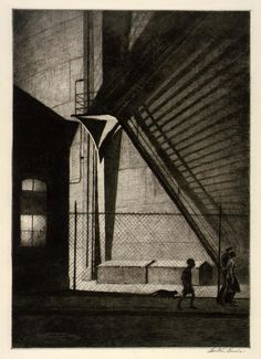 Martin Lewis  (1881 - 1962) ausztralian artist. In 1900, Lewis left Australia for the United States and learned from Edward Hopper the basic...