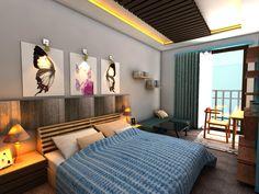 Bedroom apartment #interiordesigner #contempo #modern