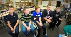 This Boy Was Bullied For Being Different, Until His New Friends Stepped In.  LOVE.