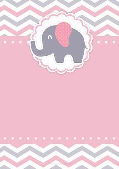 New baby shower invitaciones para editar Ideas Tarjetas Baby Shower Niña, Invitaciones Baby Shower Niña, Imprimibles Baby Shower, Baby Shower Niño, Tea Party Baby Shower, Girl Shower, Baby Shower Games, Elephant Shower, Elephant Party
