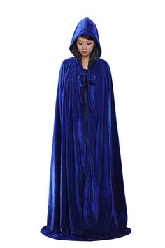 PingFeng Halloween Black Velvet Hooded Cloak Wedding Cape Black Satin Wicca SCA XL - See more at: http://halloween.florenttb.com/costumes-accessories/pingfeng-halloween-black-velvet-hooded-cloak-wedding-cape-black-satin-wicca-sca-xl-com/
