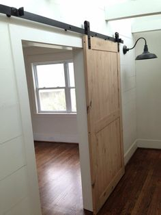 Barn door and hardware