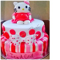 Hello kitty BabyShower cake