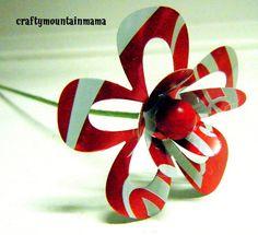 Individual Soda Can Flowers Medium 2 1/2 YOU by craftymountainmama, $4.00