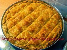 Cyprus Food, Greek Pita, Greek Pastries, Filo Pastry, Greek Recipes, Ricotta, Apple Pie, Feta, Bakery