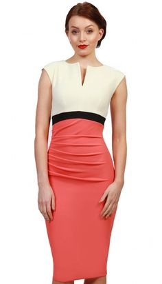 c04f4c92ce 3416 Diva Nadia Occasion Dresses (Cream coral) All Things Fabulous