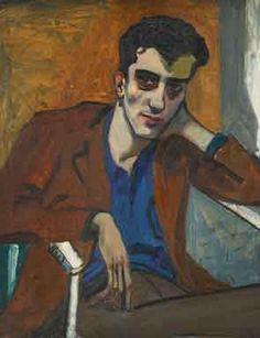 Alice Neel, Dick Bagley, 1946.  Art Experience NYC  www.artexperiencenyc.com