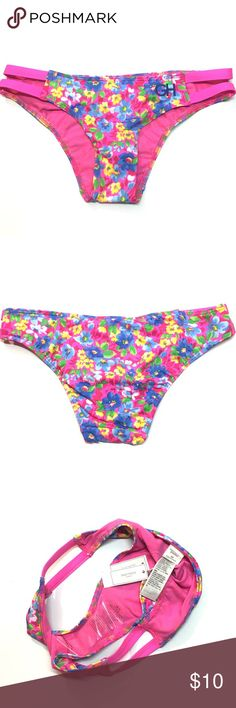 NWT {Gilly Hicks} Bikini Bottom · Gilly Hicks floral bikini bottom. Super adorable. New with tags. I have its matching bikini top which has been worn.  · These are photos of the actual item. Please review photos for flaws or signs of wear. I try my best to showcase and represent the true product. Gilly Hicks Swim Bikinis