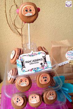 Macarons kakamora Anniversaire thème Vaiana