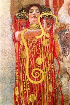 Medicina (1900-1907) - Klimt Gustav (1862-1918) - STAMPA SU TELA € 28,51
