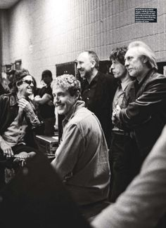 Keith Richards, Roger Daltrey, Pete Townshend, Mick Jagger and John Entwistle