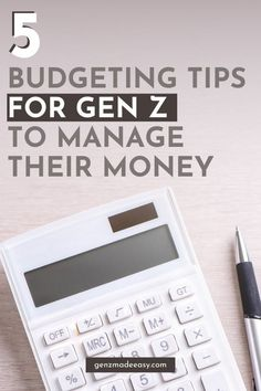 Budgeting Tips For Gen Z To Manage Their Money, Budget Advice for Generation Z #budget #budgeting #genx #generationz #savingmoney Budgeting Finances, Budgeting Tips, Budget App, Money Budget, Make More Money, Make Money From Home, Making A Budget, Money Matters, Financial Planning