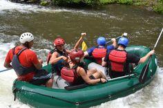 Smiling on the Tenorio River rafting tour Guanacaste, Costa Rica #rafting #fun #cool