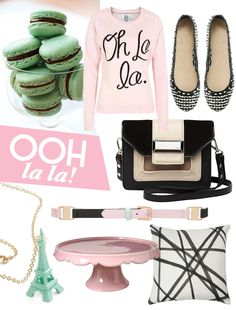 Ooh la la! Pretty pastel products with a french flavour over at the Adore Home magazine blog www.adoremagazine.com/blog