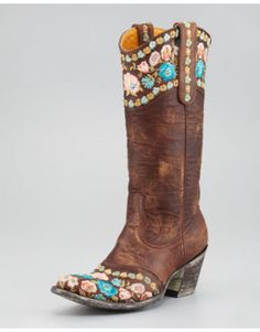 Like these boots - different from your average cowboy ones