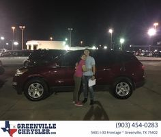 Greenville Chrysler Jeep Dodge Ram Customer Review  Steve treated me with the utmost respect and maintained his professionalism.  I would definitely be inspired to return if I needed to purchase another vehicle.  Lourdes Murillo  Lourdes, https://deliverymaxx.com/DealerReviews.aspx?DealerCode=J122&ReviewId=64936  #Review #DeliveryMAXX #GreenvilleChryslerJeepDodgeRam