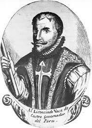 267 – (1541)  El nuevo jefe. Es nombrado por el rey de España, don Cristóbal Vaca de Castro como gobernador del Perú. Tiene entre sus órdenes investigar sobre la muerte de Almagro el Viejo y castigar a los Pizarro. No contaba que Almagro el Mozo interpretaría la ley con manos ensangrentadas.