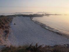 The beach at Camusdarach