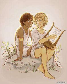 Patroclus and Achilles