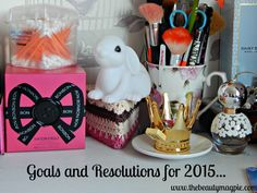 New Year's Goals and Resolutions.... Happy 2015 everyone :D   http://www.thebeautymagpie.com/2015/01/happy-new-year-resolutions-and-goals.html#more