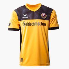 Dynamo Dresden 17-18 Home  Kits Released - Footy Headlines