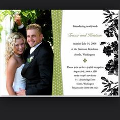 Marriage Announcement Wording Ideas From PurpleTrail | Elopement ...