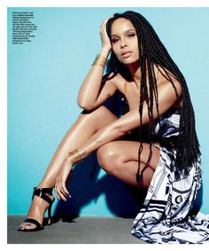 Editorial: Zoe Kravitz – Ocean Drive Magazine March 2015 | ART BECOMES YOU