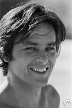 French actor Alain Delon on the set of the movie Traitement de Choc, directed by Alain Jessua in 1973 in France. High Society, Anouchka Delon, French Man, Jean Luc Godard, Old Flame, Violet Eyes, Romy Schneider, Handsome Actors, Hollywood Actor